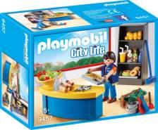 Playmobil City Life 9457 'Hausmeister mit Kiosk', 46 Teile, ab 5 Jahren