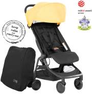 Mountain Buggy 'Nano V3' Reisebuggy 2020 Yellow inkl. Reisetasche