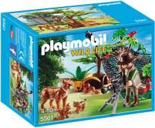 PLAYMOBIL - Luchsfamilie mit Tierfilmer 5561