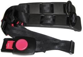 HAMAX Kinder Sicherheitsgurt-2122801620 Sicherheitsgurt, schwarz, 40 x 10 x 10 cm