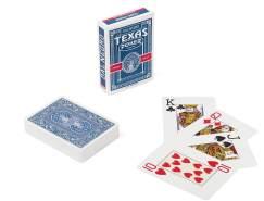 Dal Negro 24127 - Texas Poker Monkey Blau Spielkarten