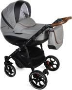 Kombikinderwagen Creativo als Set 3in1 inkl. babyschale, Babywanne, Sportaufsatz mit Gel Reifen Creativo V/02