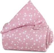 Babybay Gitterschutz für Verschlussgitter alle Modelle, beere Sterne weiß
