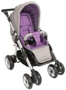 United-Kids - Sportwagen Kinderwagen QX-519 Grey-Violett