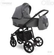Camarelo Ollio 3in1 Kombikinderwagen 3in1 dunkelgrau