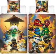 Lego Ninjago Crew Bettwäsche Biber / Flanell 135x200