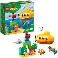 LEGO DUPLO 10910 'U-Boot-Abenteuer', 24 Teile, ab 2 Jahren, lehrreiches Badespielzeug