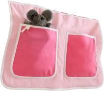 Ticaa Bett-Tasche für Hoch- und Etagenbetten - pirat schwarz-weiß
