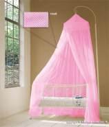 Baldachin für Kinderzimmer in Rosa, Altrosa oder Pink, 60 cm x 240 cm rosa