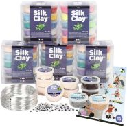 Silk Clay - Figuren-Set für Schulklassen, Basic 1, 1Set