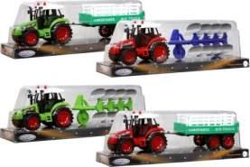 Speedzone -Traktor mit Anhänger, 4-fach sortiert
