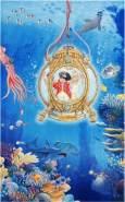 Böing Carpet 'Captn Sharky - Unterwasserwelt' Kinderteppich blau, 100x160 cm