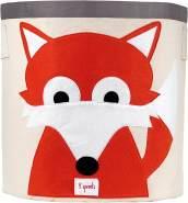 3 Sprouts Aufbewahrungskorb Fuchs, rot