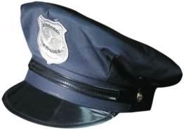 Faschingshut - Polizist - für Erwachsene