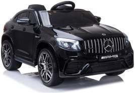 """Kinderfahrzeug - Elektro Auto """"Mercedes GLC63S - M"""" - lizenziert - 12V7AH Akku,4 Motoren+ 2,4Ghz+Ledersitz+EVA-Schwarz"""