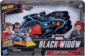 Hasbro E8674EU4 - Nerf Power Moves Marvel Black Widow Stinger Strike Blaster
