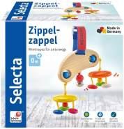 Selecta 61043 Zippelzappel, Minitrapez und Babyspielzeug, 16cm