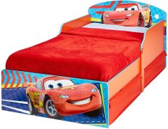 Worlds Apart Disney Cars - Kinderbett mit Stauraum 70x140