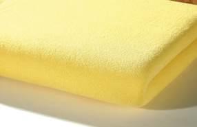 Alvi Spannlaken Trikot, gelb 40x90
