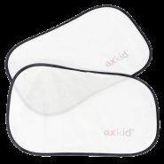 Axkid - Sonnenschutz (2er Pack) für Seiten- und Heckfenster - Weiß