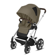 CYBEX Gold 'TALOS S LUX' Buggy 2021 Silver/Classic Beige