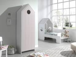 Vipack 'Casami' 2-tlg. Kinderzimmer-Set 70 x 140 cm pink