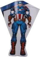 Drachen Captain America 80 x 56 cm