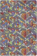 Misento 'Big City' Kinderteppich 200x300 cm