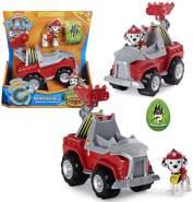 Spin Master - Paw Patrol Marshall - Dino Rescue Einsatzfahrzeuge | Rev-Up, Dino und Spielfiguren