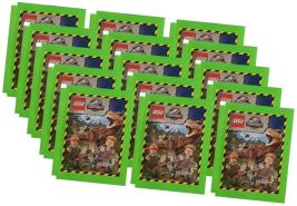 Blue Ocean Jurassic World Lego Sticker (2020) - 15 Tüten - Sammelsticker