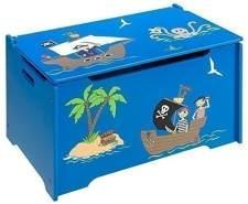 4uniq 'Pirat' Kinderspielzeugtruhe