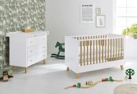 Pinolino 'Pan' 2-tlg. Babyzimmer-Set weiß