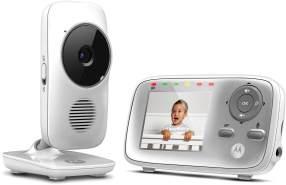 "Motorola 'MBP483-G' Video-Baby, 300 m Reichweite, 2,8"" Farbdisplay, mit Kamera"