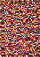 myfelt 'Lotte' Filzkugelteppich 70 x 100 cm