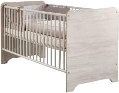 Arthur Berndt 'Leon' Kinderbett 70 x 140 cm inkl. Lattenrost 4-fach höhenverstellbar Light Wood