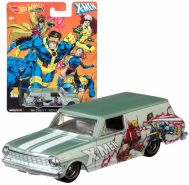Cars Mattel DLB45 - '64 Chevy® Nova Delivery - Pop Culture X-Men | Hot Wheels Premium Auto Set