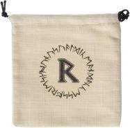 Q WORKSHOP Runic beige und Black Dice Bag