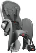 Polisport 'Wallaby Evolution Deluxe' Kinderfahrradsitz dunkelgrau, bis 22 kg, inkl. Rahmenhalterung