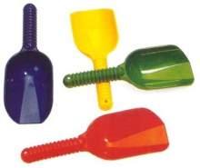 Mehlschaufel - aus Kunststoff - 25 cm - 1 Stück, sortiert