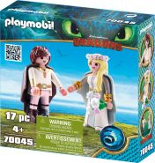 Playmobil Dragons 70045 'Astrid und Hicks', 17 Teile, ab 4 Jahren