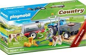 Playmobil Country 70367 'Ladetraktor mit Wassertank', 46 Teile, ab 4 Jahren