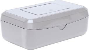 bébé-jou Feuchttücherbox Design Silber