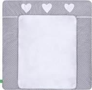 LULANDO 'White Dots/Grey' Wickelauflage 75 x 85 cm grau/weiß