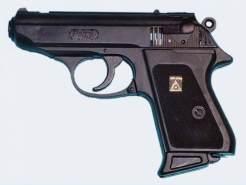 Sohni-Wicke Schnellfeuerpistole 'Percy', 25 Schuss