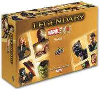 Upper Deck UPD90291 Legendär: Marvel Studios 10th Anniversary Kartenspiel