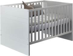 Arthur Berndt 'Liene' Kinderbett 70 x 140 cm inkl. Lattenrost 4-fach höhenverstellbar MDF Weiß