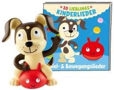 Tonies Lieblings Kinderlieder 'Spiel- & Bewegungslieder', Hörfigur mit ca. 73 Minuten Spielzeit, ab 3 Jahren, deutsch