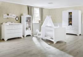 Pinolino 'Pino' 3-tlg. Babyzimmer-Set weiß