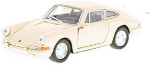 auto Porsche 911 Rückzug 1:24 Stahl-Creme