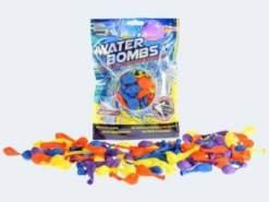 Unbekannt TOI Toys 65080 Wasserballons, 100 Wasseballons z mit Wasserhahn Kappe